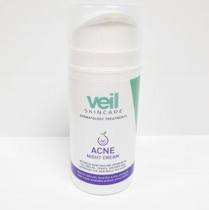 acne night pump bottle