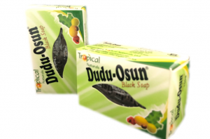 dudu osun black soap packet
